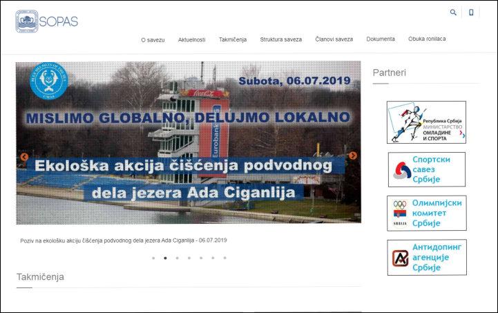 SOPAS - savez organizacija podvodnih aktivnosti Srbije