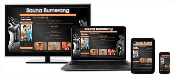 Sauna Bumerang