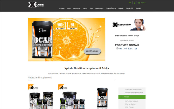 Xplode Nutrition